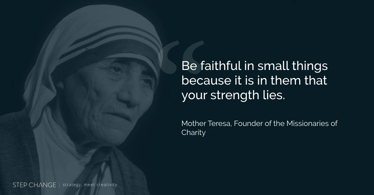 customer-engagement-mother-teresa