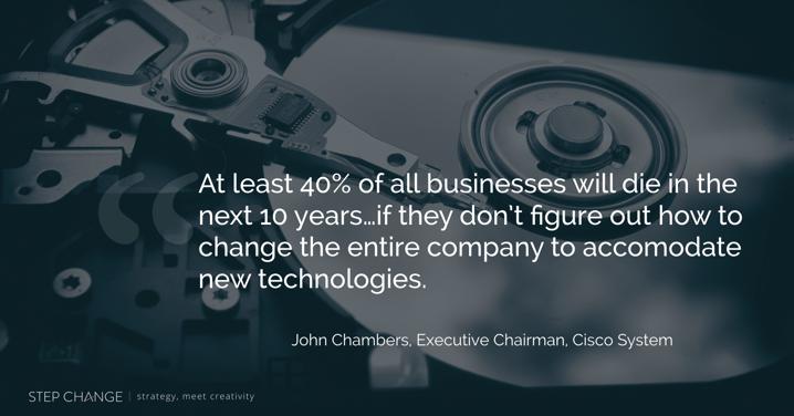 Step Change - Disruptive Technologies
