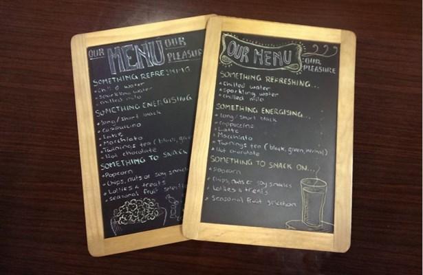 client menu