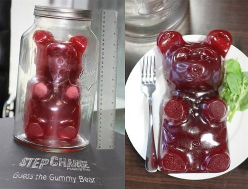 win the giant gummy bear