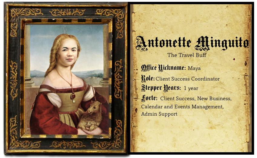 Stepper Stories - Antonette Minguito