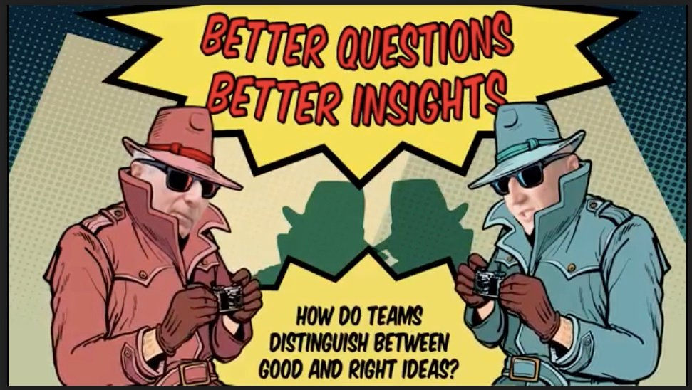 Insight Hunters Episode 1 — Distinguishing Between Good and Right Ideas