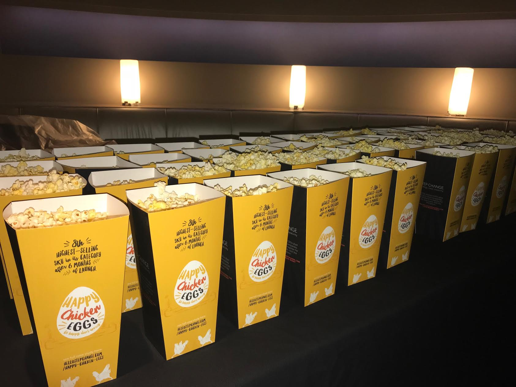 Step Change News: Movie Night Success | Powerful Presence Leadership Course