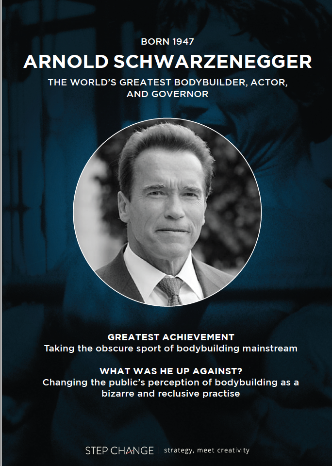 History's Greatest Strategists: Arnold Schwarzenegger