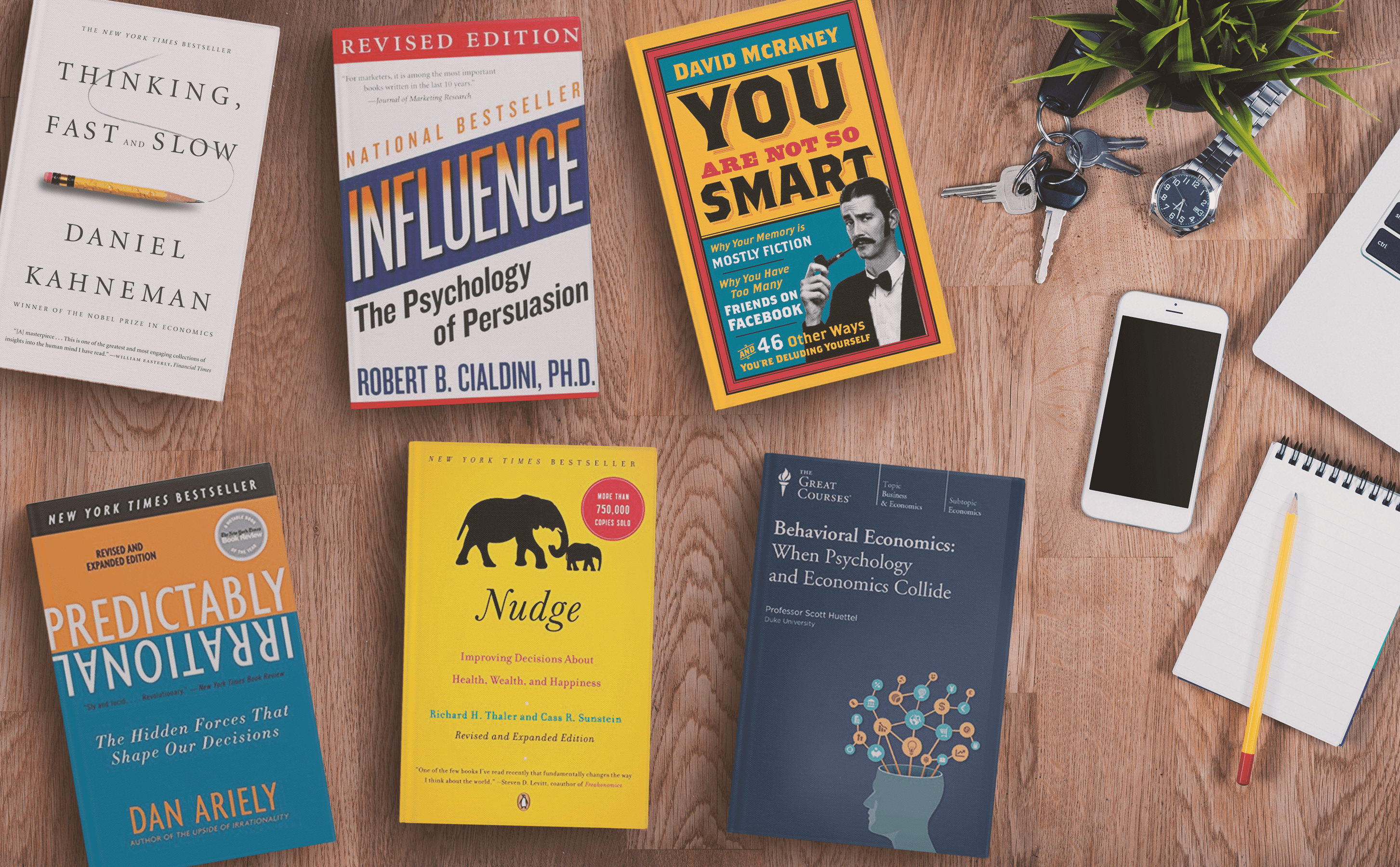 6 Books about Behavioural Economics CMOs Should Read